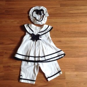 Infant Girls Sailor outfit
