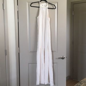 H&M Cream Maxi Dress, Size 4 *NWT*
