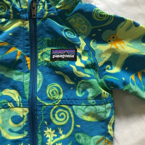 23a22da7 Patagonia Jackets & Coats | Nwt Baby Baggies Jacket Ocean Print ...