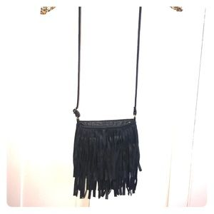 H&M fringe purse 💜