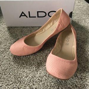 ALDO wishart pink ballet flat size 8