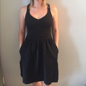 Cynthia Rowley black party dress