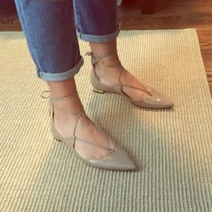Aquazzura Christy Flats