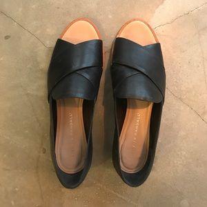 Loeffler randall leather slides