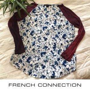 French Connection beautiful floral top