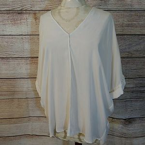 Vince double V top large