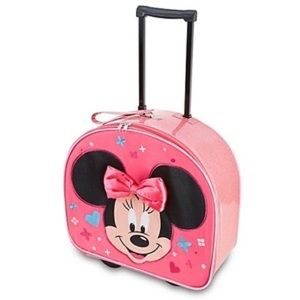 Minnie Mouse Rolling Luggage/Carry-On Suitcase