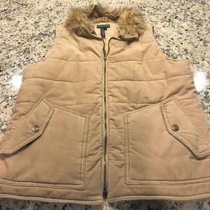 Authentic Ralph Lauren Beige Corduroy Vest