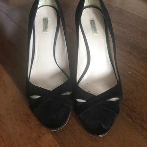 Miu miu new suede heels 7.5 37.5 $650 2015 prada