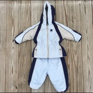 Rothschild Blue winter jacket snow pants set 18 M