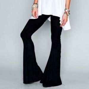 Brandy Melville Black Flare Pants