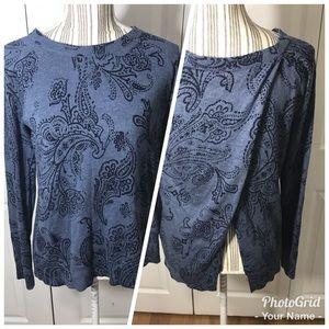 [Lucky Brand] Spilt Back Sweater