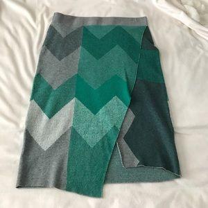 Moth Brand knitted skirt