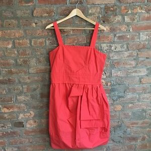 NWOT Marc by Mark Bright Coral Cocktail Dress
