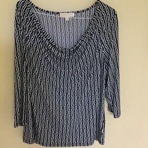 Michael Kors Black Long Sleeve Dress Shirt Size 2X