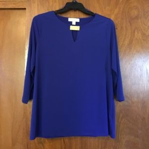 Michael Kors 3/4 Sleeve Blouse
