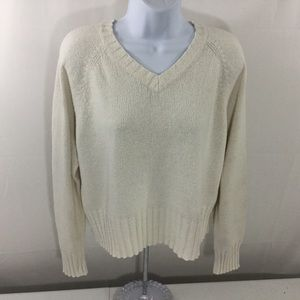 The Limited Women's V-neck Sweater Size M EUC