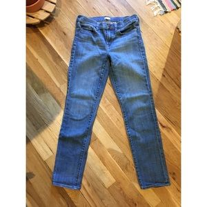 J. Crew slim leg vintage style jeans, size 27