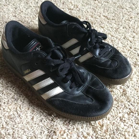 info for 500f9 13f42 ... various styles adidas Shoes Samba Soccer Shoe Size 5 12 Black White  Poshmark df02e 6ddbd ...