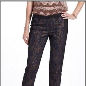 Cartonnier Anthropologie cropped pants 0 XS