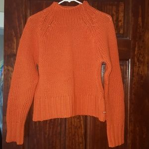 American Eagle wool turtleneck short sweater