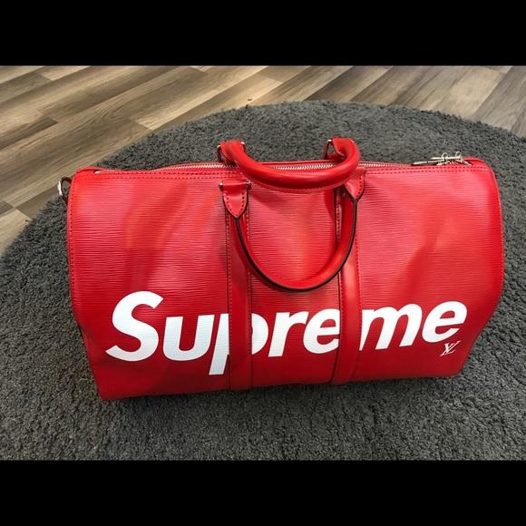 5129c2fcdcc0 Supreme   Louis Vuitton limited Edition Duffle Bag