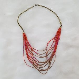 Express beaded necklace