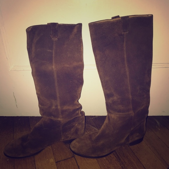 jcrew Shoes - Size 7 Italian suede boots from Jcrew