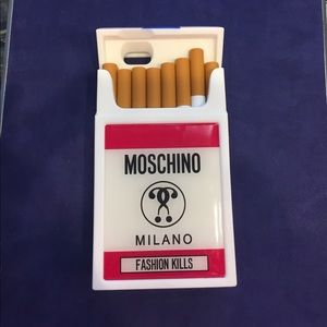 Moschino iphone 6 cigarette phone case
