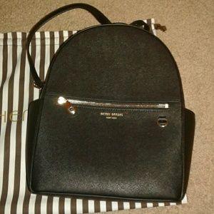 Henri bendel black backpack