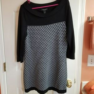 White House Black Market knit tunic
