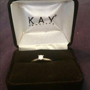 1/4 Karat Diamond Solitaire Engagement Ring