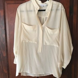 See by Chloe cream blouse