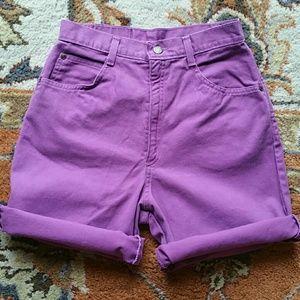 Purple highwaist vintage size 8 or 26/27