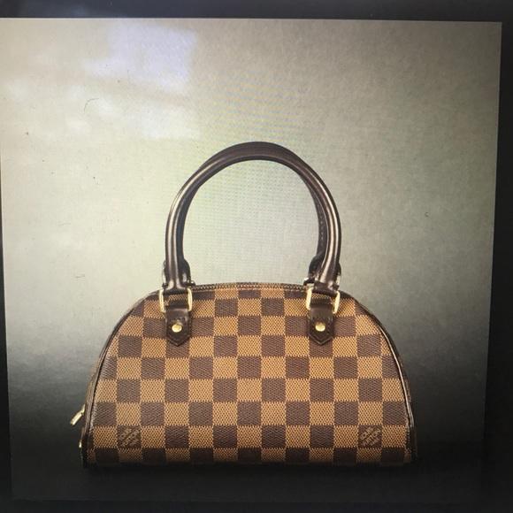 79ab66478a35 Louis Vuitton Handbags - Louis Vuitton Damier Ebene Mini Ribera Bag