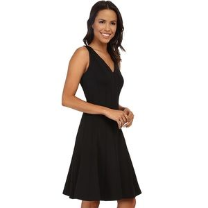 Beautiful black fit and flare dress