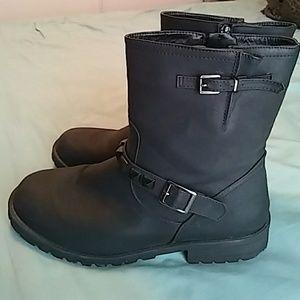 Torrid Black Stud boots