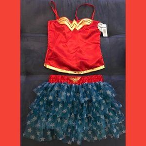 Wonder Woman Corset & Tutu DC Comics Small