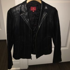 Cole Haan Women's Leather Jacket (Size 6)