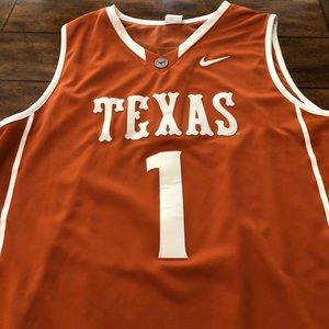 Men's Texas Basketball Jersey