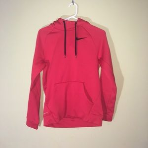 Therma Fit Nike Hoodie Red