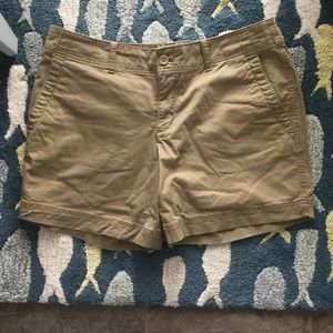 Eddie Bauer Khaki Shorts Size 10 Heritage Wash