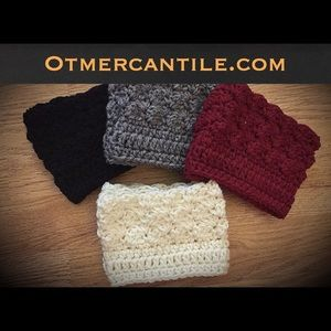 Accessories - Crochet BOOT CUFFS