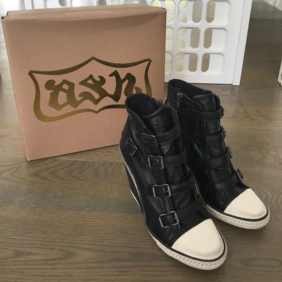 1e8f522a3adb Ash Shoes - NIB Ash Thelma Wedge Leather Sporty Bootie