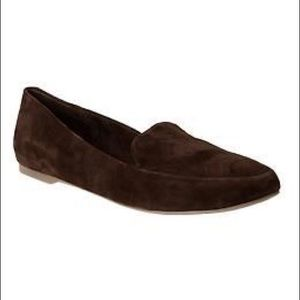GAP Suede Loafers in Chocolate Brown