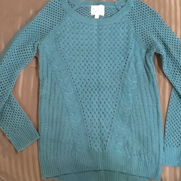 60% off Hippie Rose Sweaters - Dusty Blue Sweater from Austine's ...