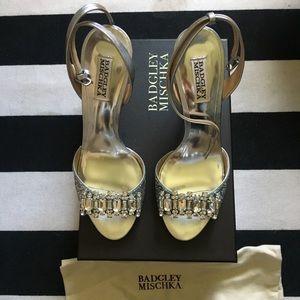 Badgley Mischka Amanda II sandal. Never worn