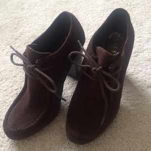 Lauren by Ralph Lauren ankle booties, size 7