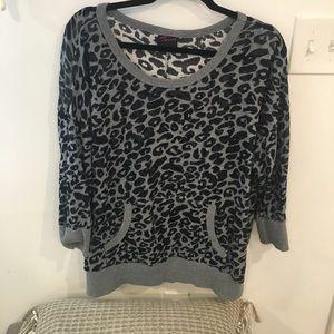 TORRID size 3X animal print sweater