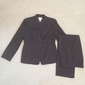 Ann Taylor LOFT Pinstripe Suit